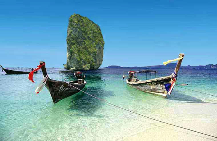 Ko Poda from the Krabi hotels excursion