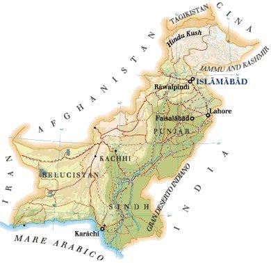 Cartina India Pakistan.Pakistan Travel Diary In Asia